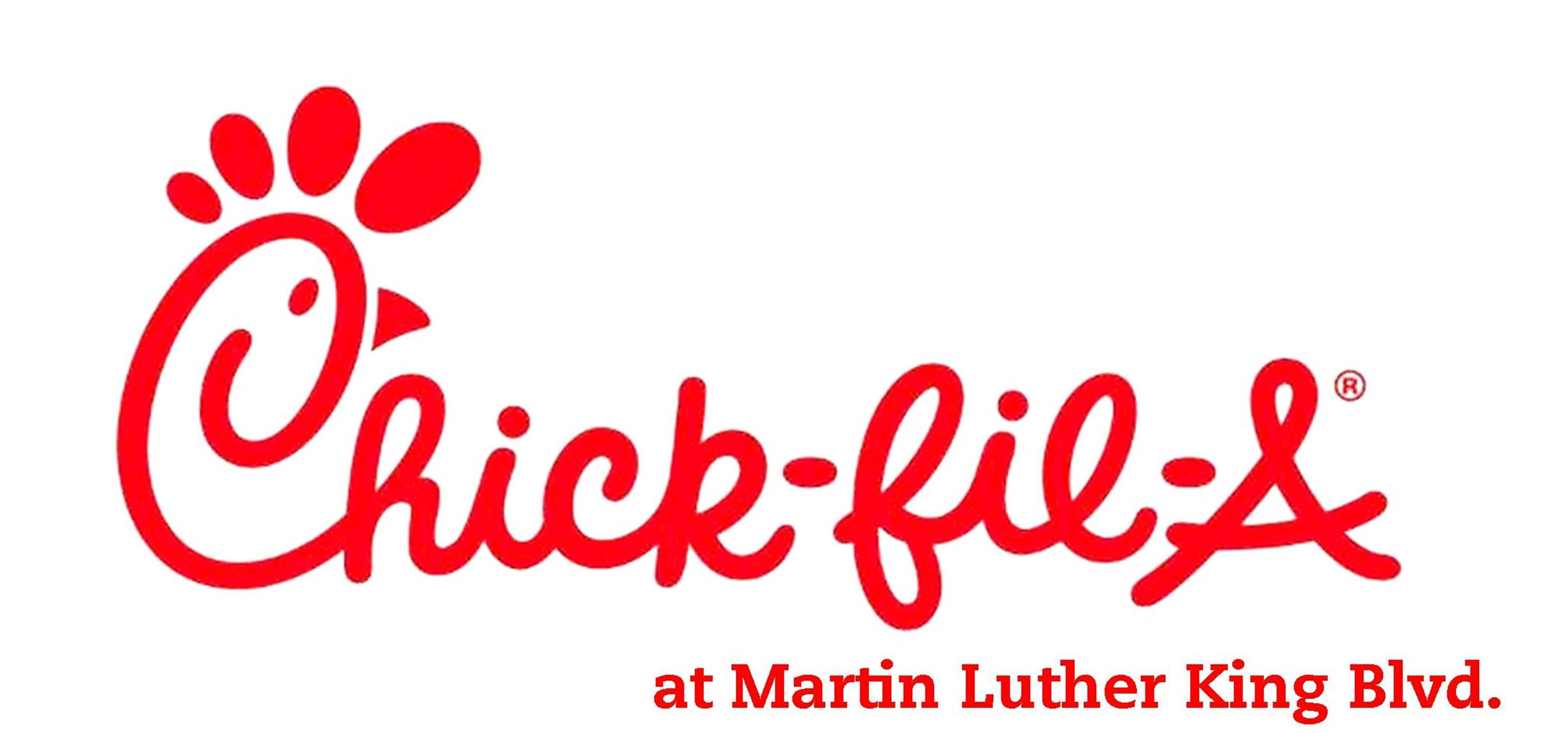Chick-fil-A at Martin Luther King Blvd